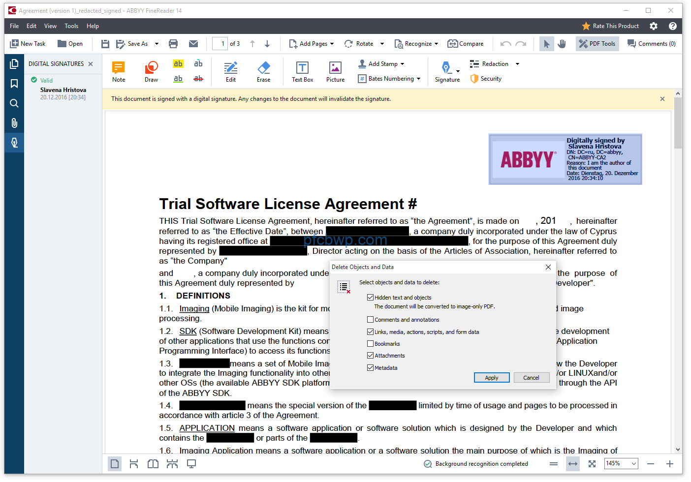 ABBYY Finereader 14 14.0.107.212 Activation With License Key Latest Full Free Download