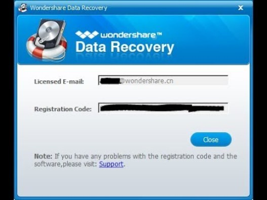 Wondershare Data Recovery 8 5 2 Crack With Registration Code Latest Pfc Crack Software